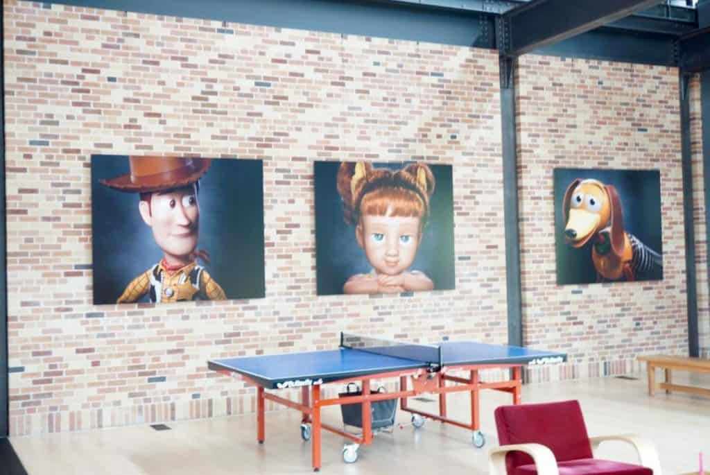 Pixar Studios Ping Pong Table