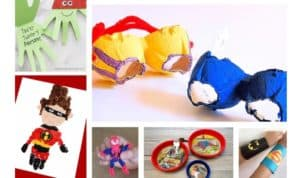 20 Fun Superhero Crafts for Kids