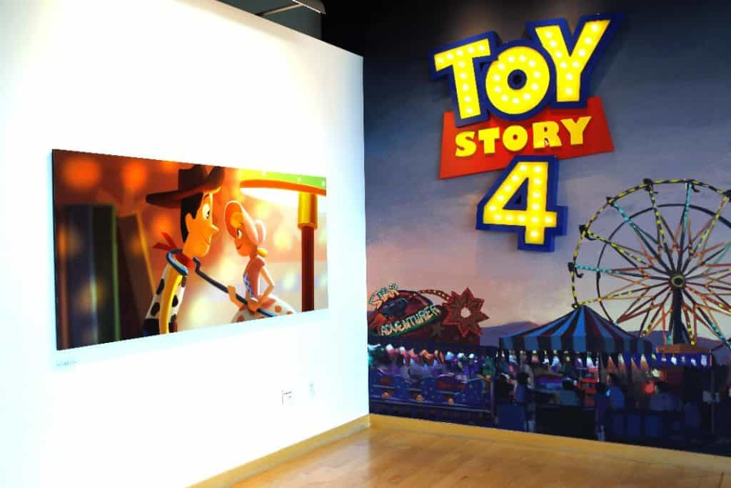 Toy Story 4 Art Gallery Pixar Studios