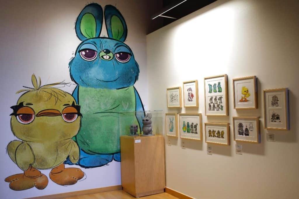 Toy Story 4 Art Pixar Studios