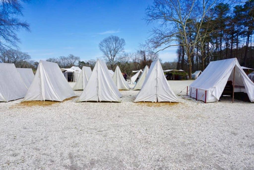 Yorktown Soldier Encampment