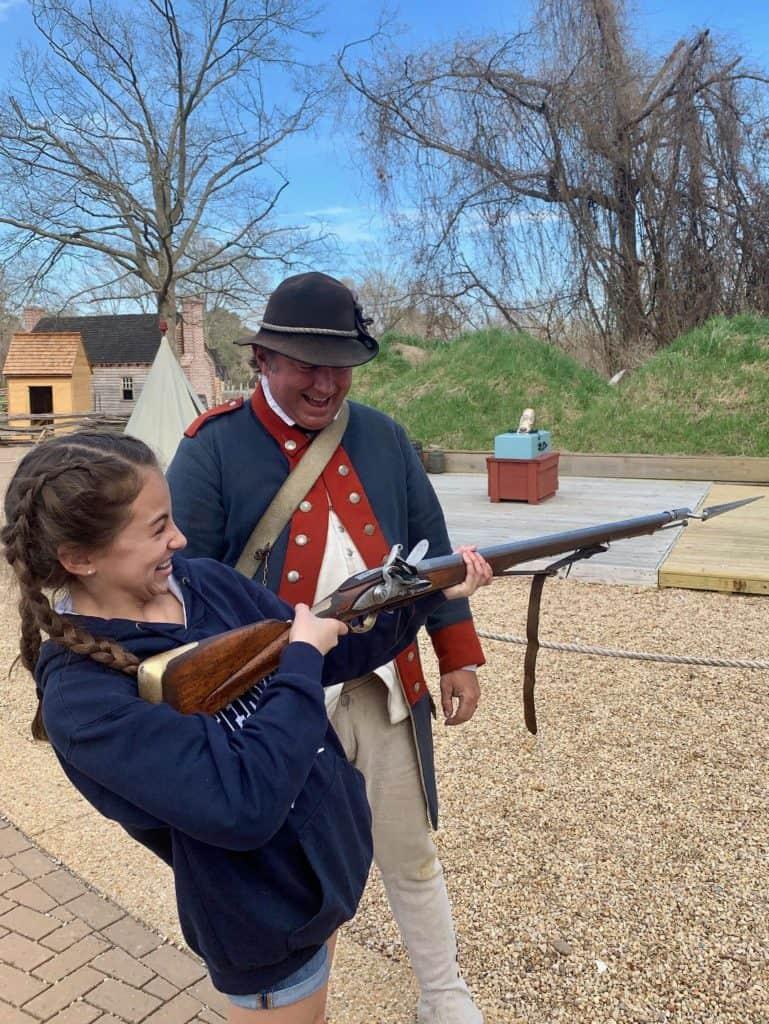 Yorktown Musket Demonstration