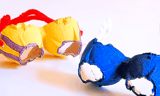 Easy googles Superhero craft for kids
