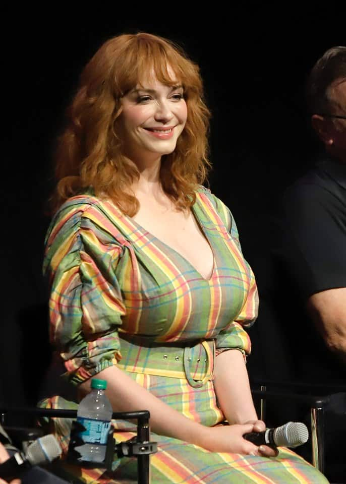 Interview with Christina Hendricks on Gabby Gabby in Toy Story 4
