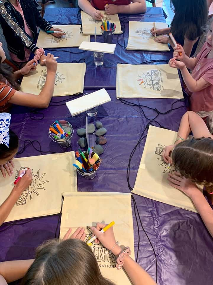 Creation Station child activities at Gaylord National