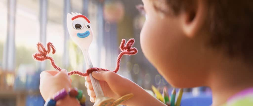 Is Forky your favorite Toy Story 4 character?