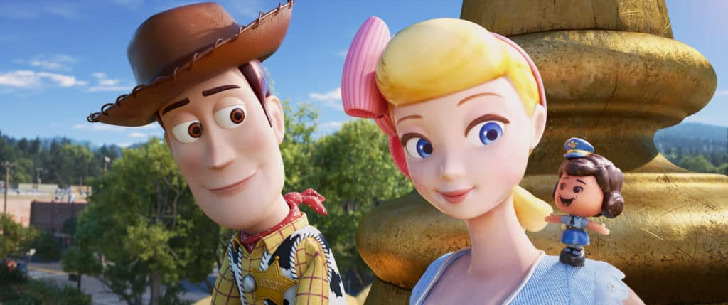 Giggle McDimples is Bo Peep's bestie and my favorite Toy Story 4 character.