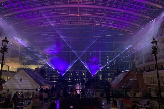 Free Laser Light Show Gaylord National