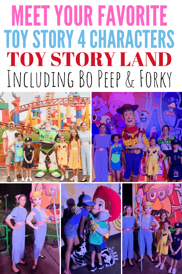 Where can you meet Bo Peep and Forky at Disney World?