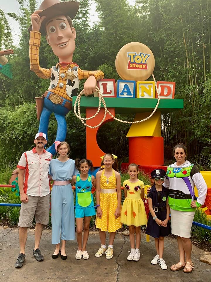 Toy Story 4 Costumes at Toy Story Land