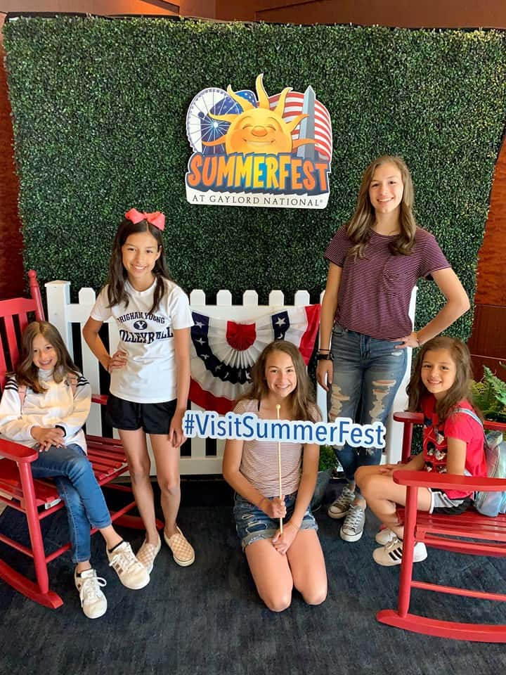 Visit SummerFest at the Gaylord National