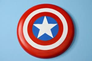 DIY Captain America Flying Shield Craft