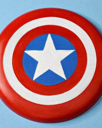 DIY Captain America Flying Shield Craft