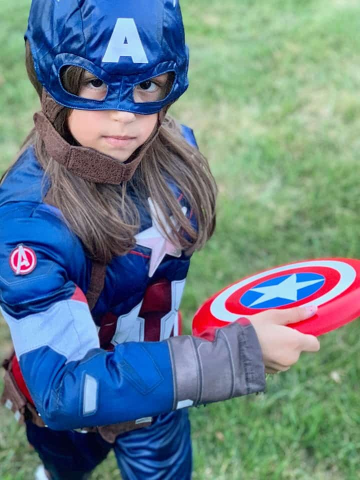 DIY Captain America Flying Shield