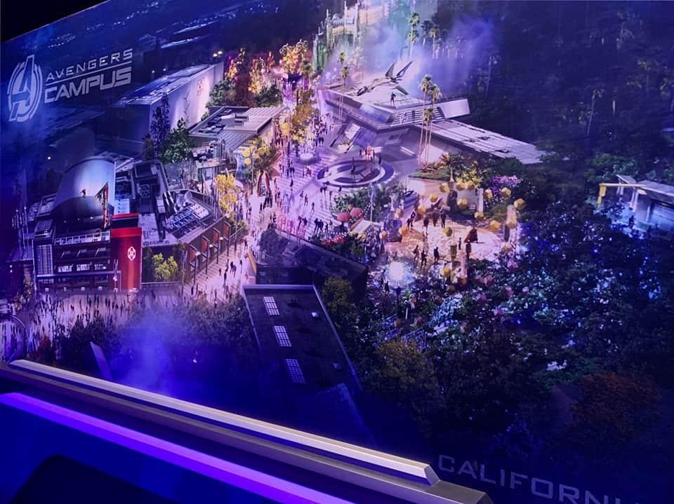 Avengers Campus Disney California Adventure Plans