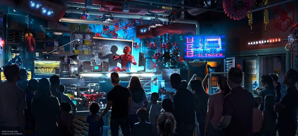 New Spider-Man Ride at Disneyland!