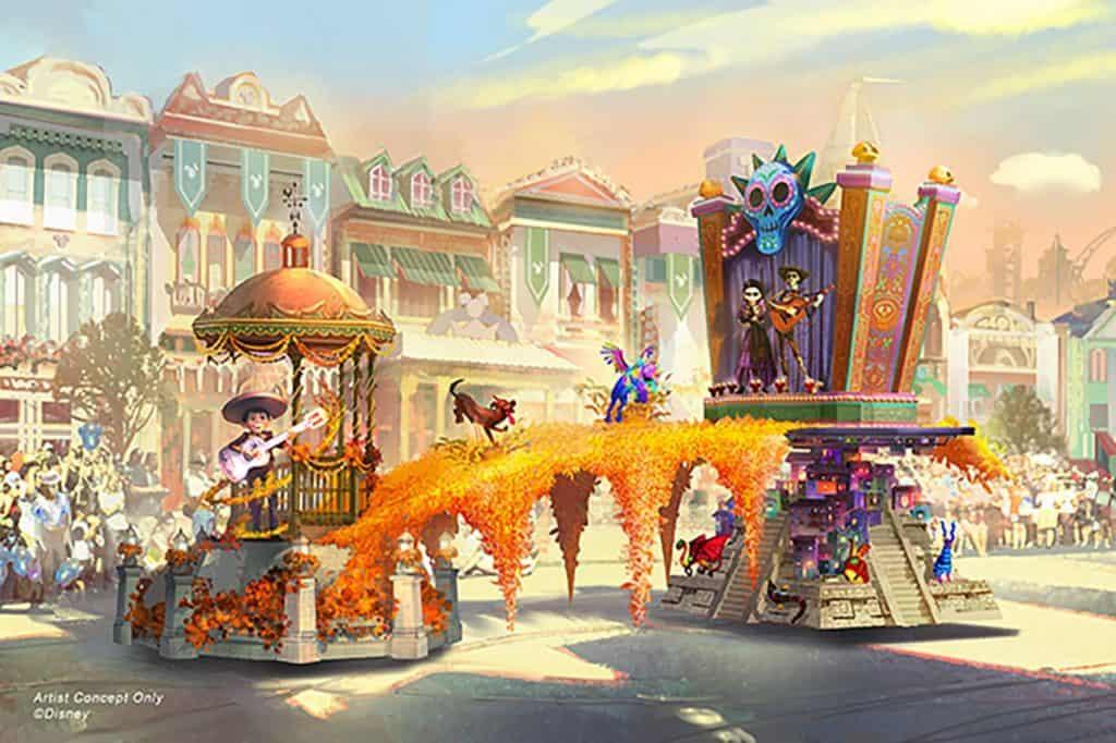 Magic Happens Parade with Pixar Coco