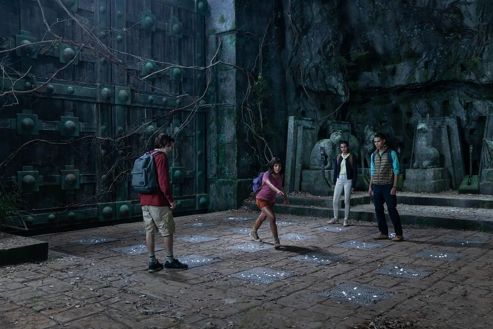 Is Dora and the Lost City of Gold scary for kids?