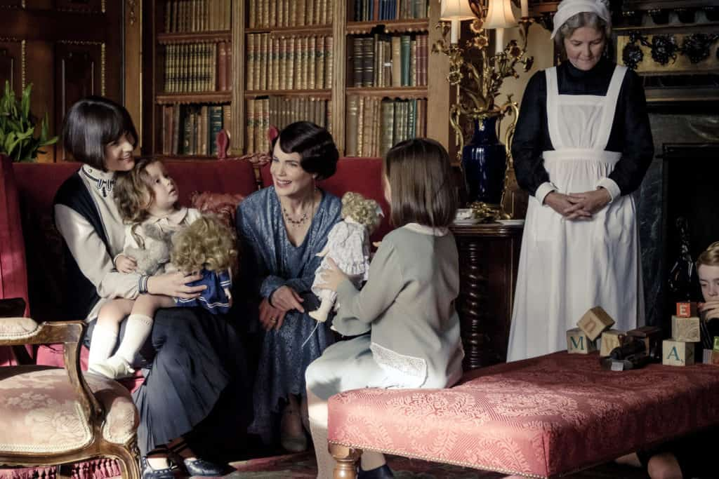 Is Downton Abbey ok for kids?