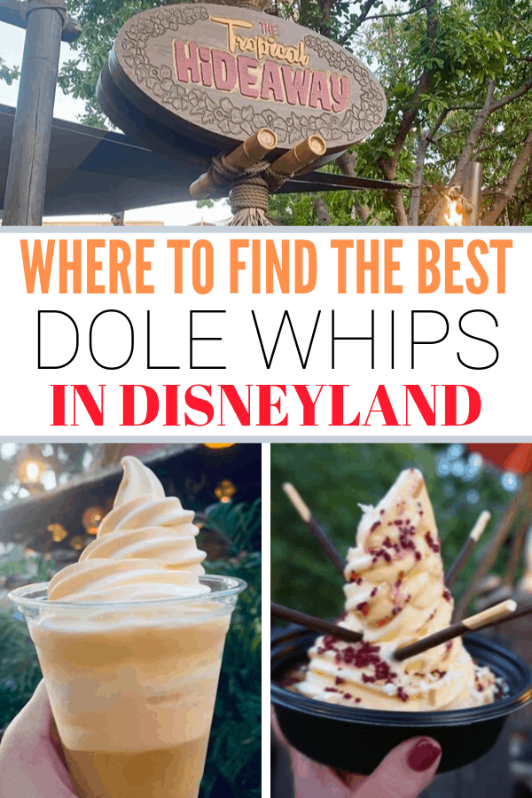 Where to find the best Dole Whips in Disneyland