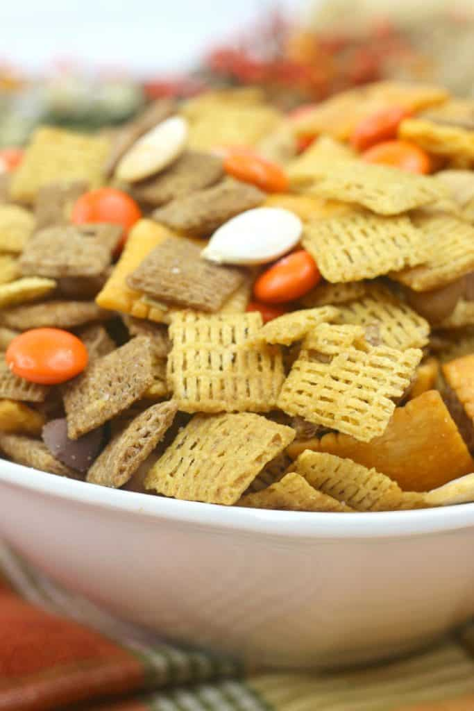 Fall Harvest Chex Mix Recipe