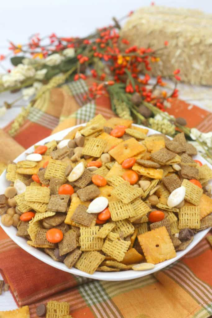 Sweet and Salty Harvest Chex Mix