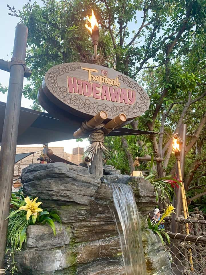 The Tropical Hideaway at Disneyland is the best place for Dole Whips