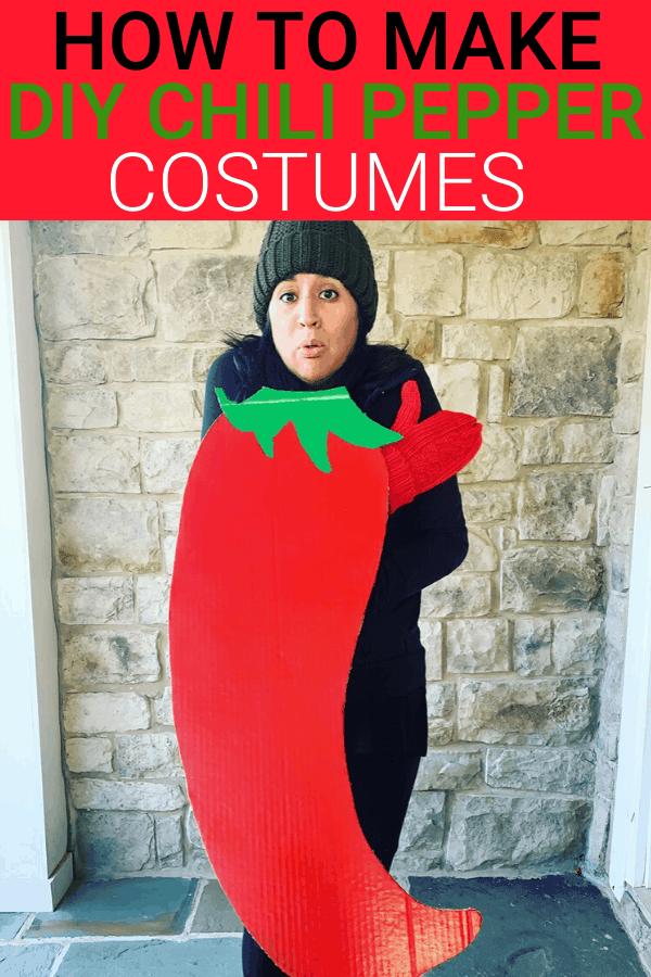 Punny costumes - chili pepper