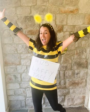 DIY Spelling Bee Costume