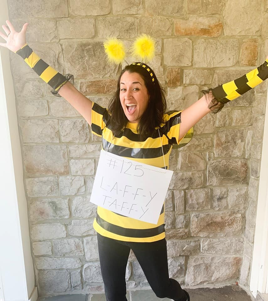 DIY Spelling Bee Costume