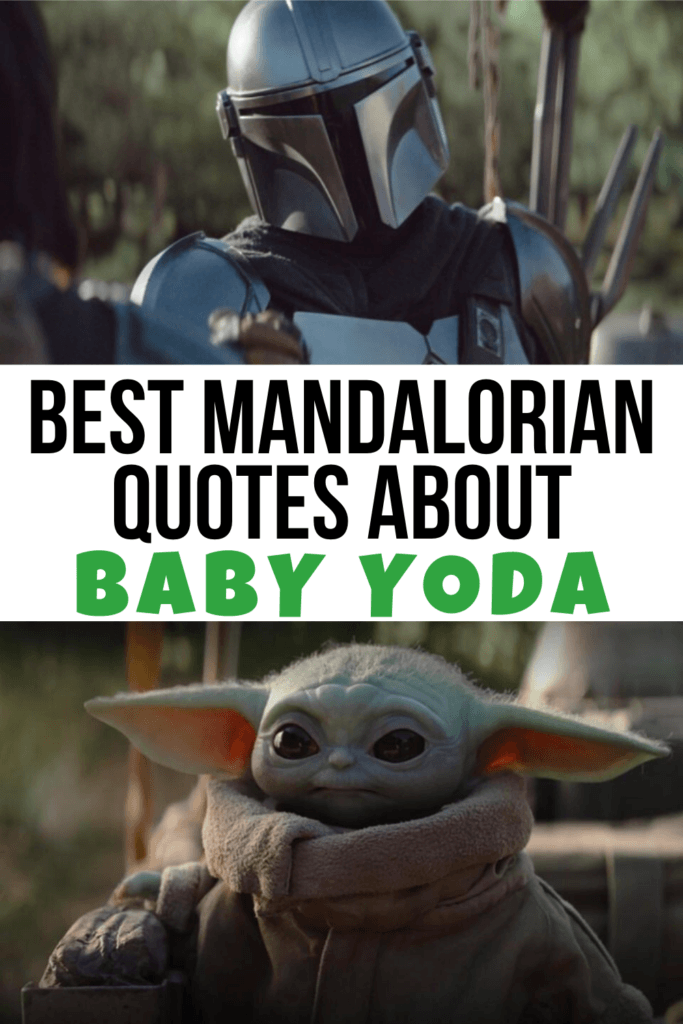 Best Baby Yoda Mandalorian Quotes