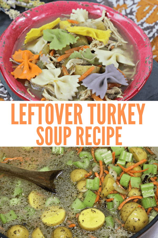 Thanksgiving Leftover Turkey Soup Recipe