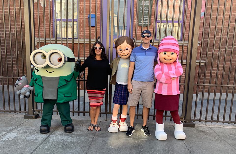 Despicable Me character meet and greet