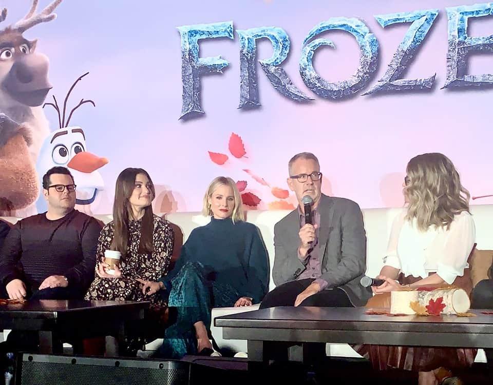 Kristen Bell Crying During Frozen 2 Press Junket