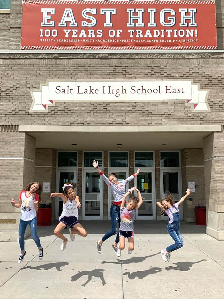 Set visit to High School Musical: The Musical: The Series on Disney+