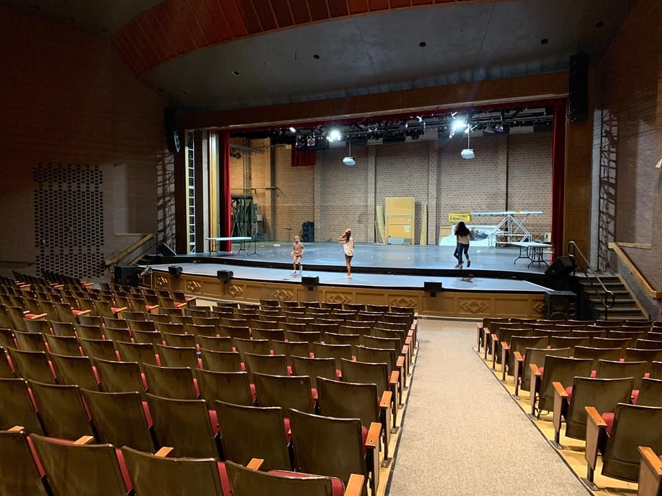 Stage from High School Musical The Series