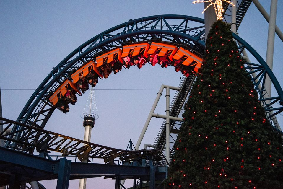 Rides Open During Christmas Candylane