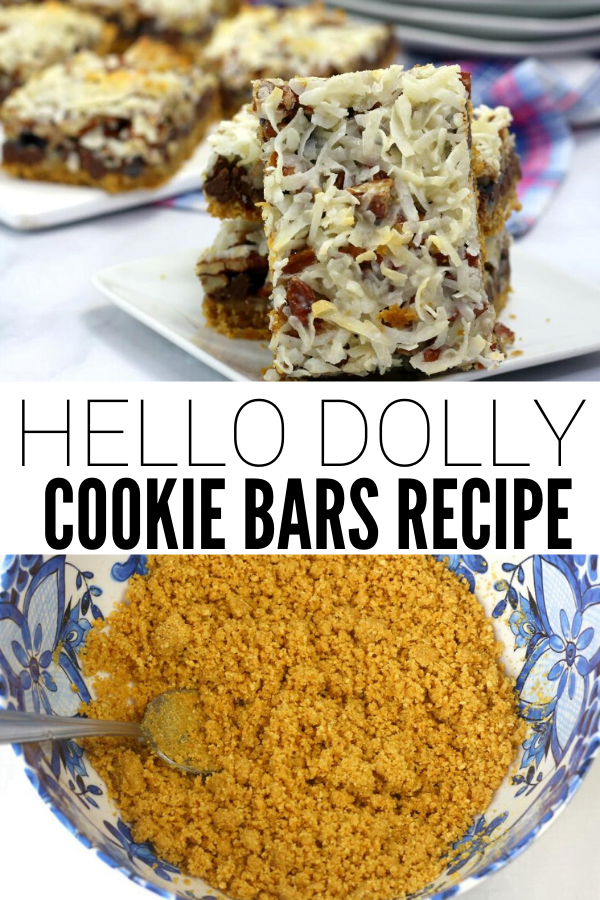 Holiday Hello Dolly Bars Recipe