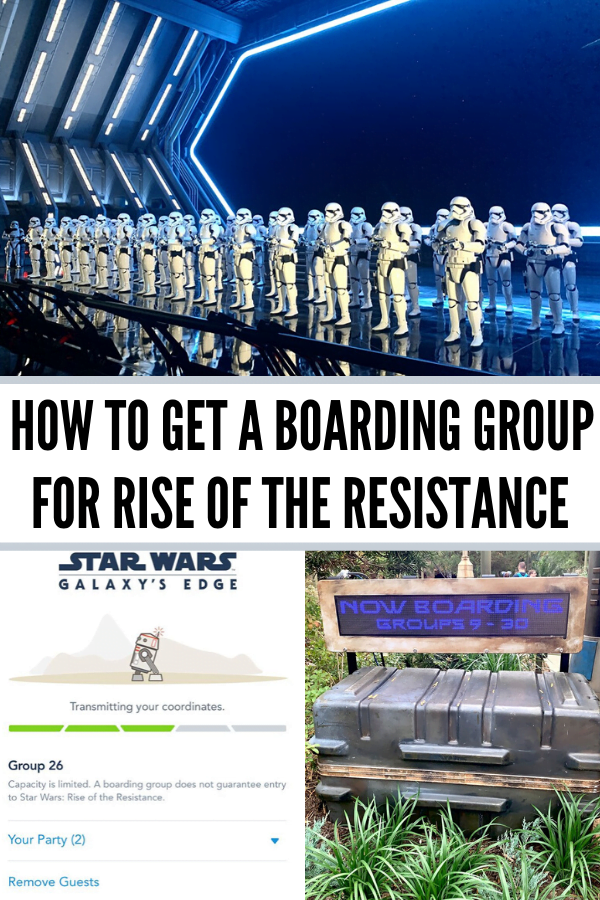 Rise of the Resistance Boarding Group Questions