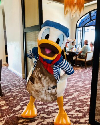 Topolino's Character Breakfast Changes During Covid