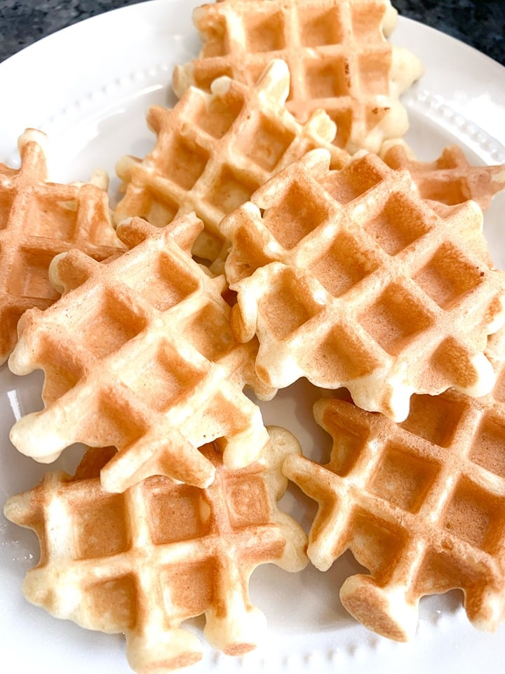 How to make Mini Waffles in a Regular Waffle Iron