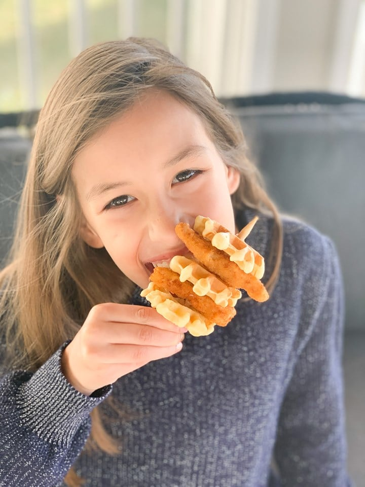 Perdue Chicken and Waffle Kabob for Kids