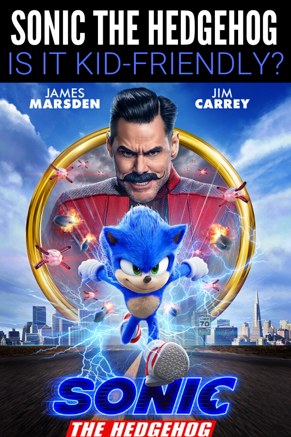 Is Sonic the Hedgehog kid friendly? Parent movie review.