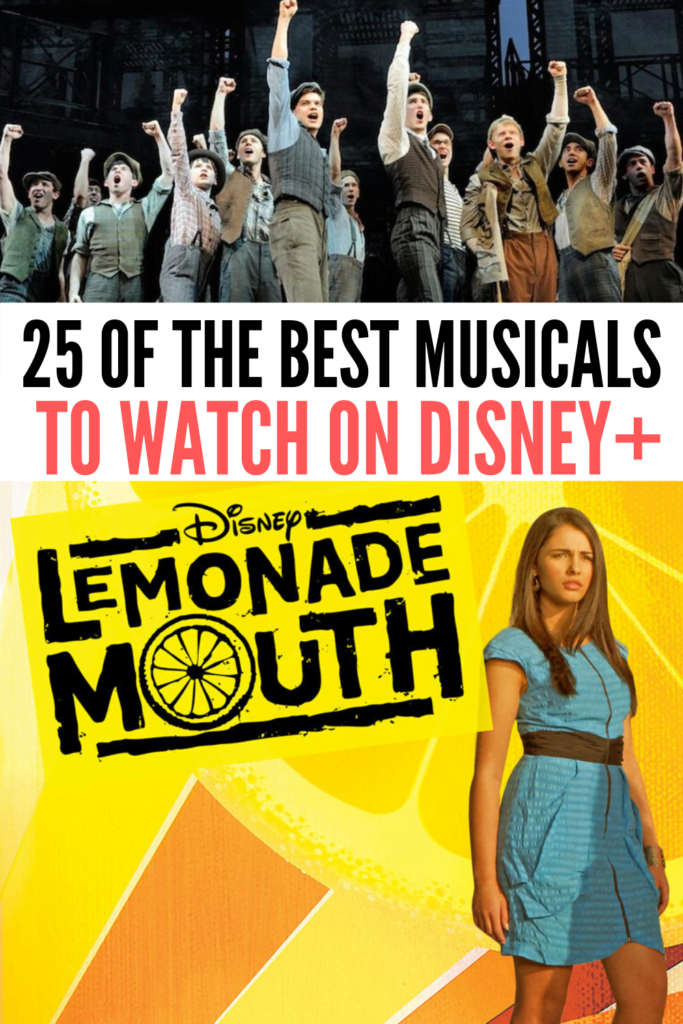 Best Musicals on Disney Plus for Teens