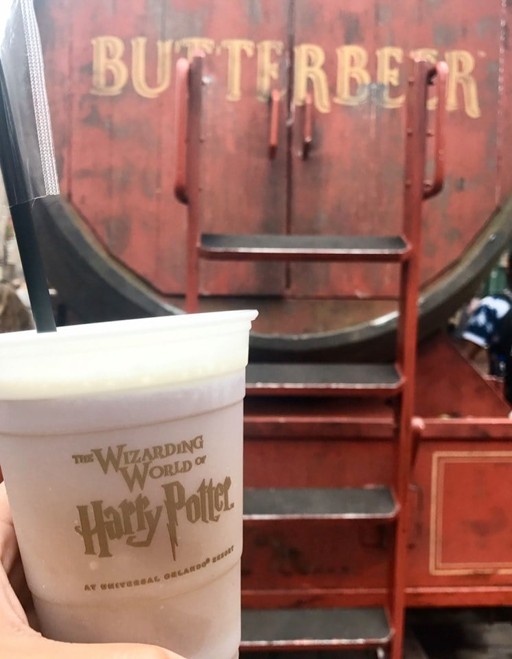 Cold Butterbeer Universal Orlando