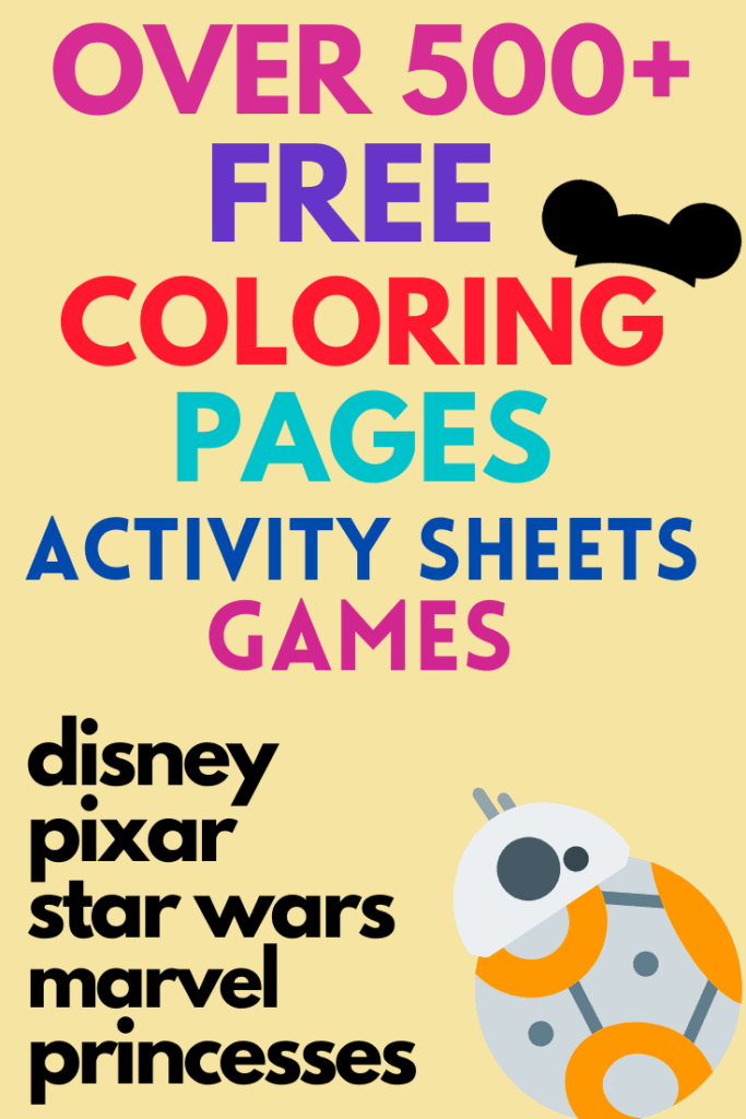 Free Disney Movie Coloring Pages