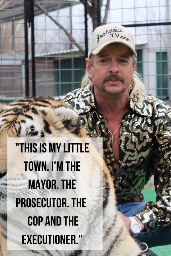 Real Joe Exotic Quotes on Tiger King