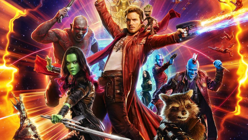 Guardians of the Galaxy are the least kid friendly Marvel movies