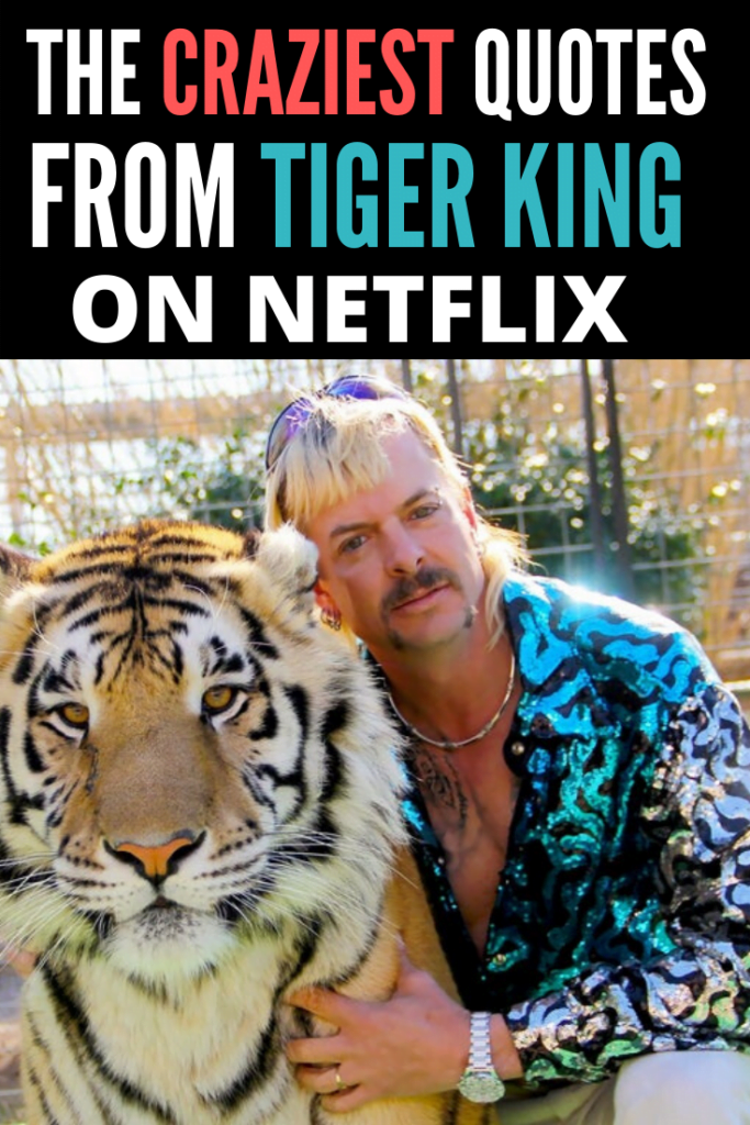 The most insane quotes from Tiger King on Netflix