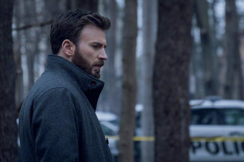 Captain America Chris Evans in Defending Jacob